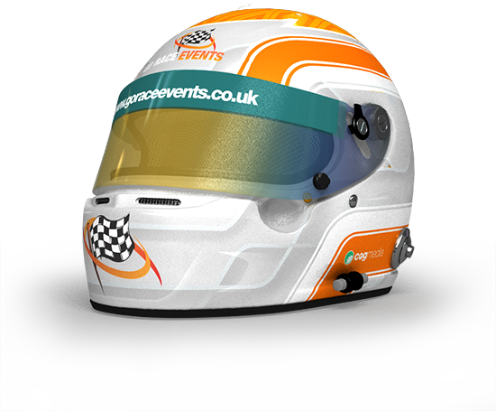 Go Race Events Helmet