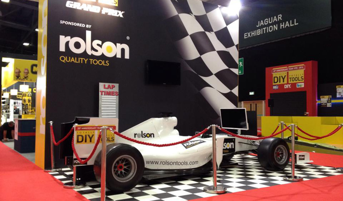 F1 Car Simulator Exhibition Stand F1 Simulator Go Race Events