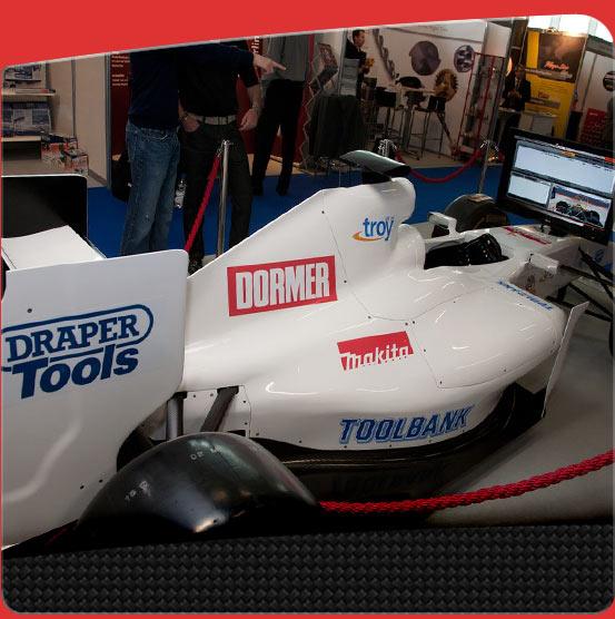 F1 Simulator branding