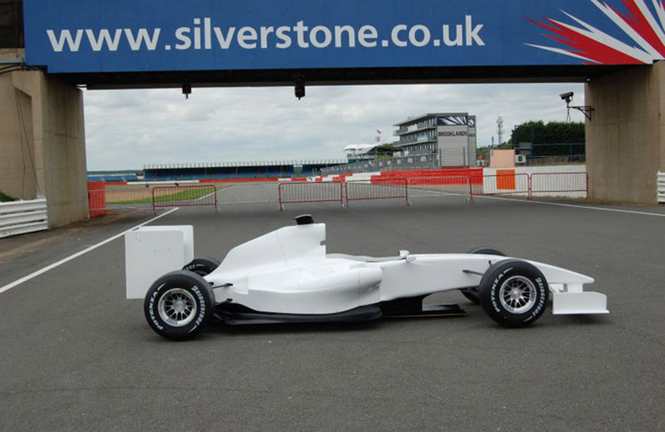 Go Race Events F1 Car at Silverstone | F1 simulator | Go Race Events