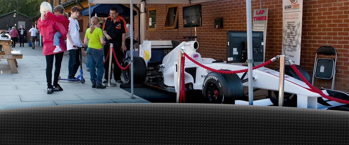 Out door F1 Race Simulator