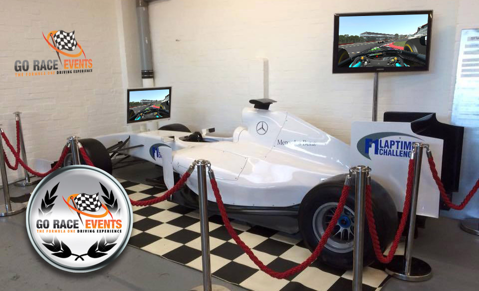 F1 Simulator at Suburban Golf Norwich