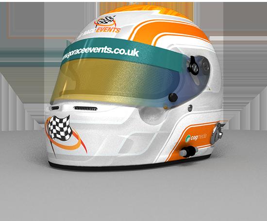 Go Race Events Helmet