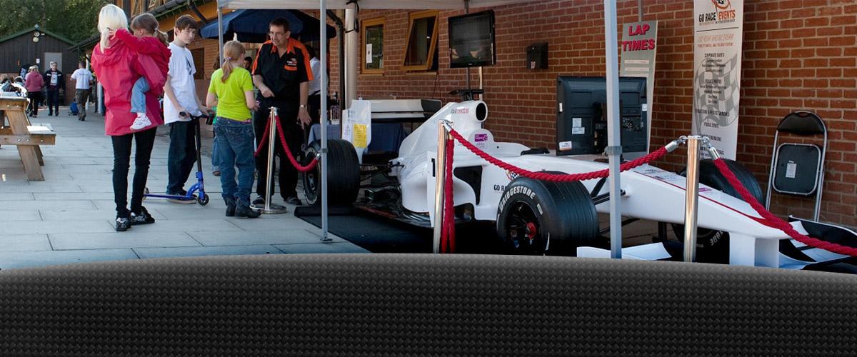 Out door F1 Race Simulator
